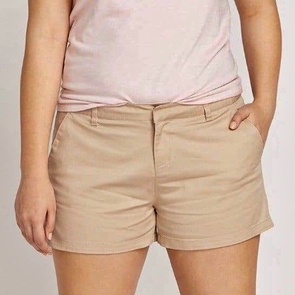 Volcom Pants - New Volcom Frochickie Tan Trouser Chino Shorts